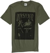 Quiksilver Black Beach Short Sleeve Tee