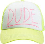 MEET ME TRUCKER HAT Lemon Yellow