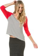 SEA LOVE RAGLAN TOP X-Small