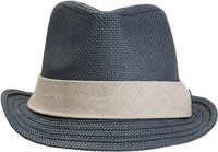 GOORIN BROS STREETWISE FEDORA Medium Navy Blue