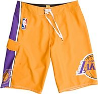 LAKERS BOARDSHORT YELLOW