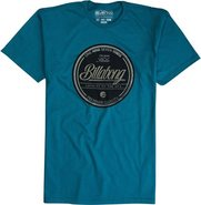 STAMPED S/S TEE Large Teal Blue
