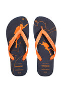 Diver Flip-Flop in Navy Blue