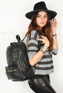 y Jeffrey Campbell McCarthy Backpack in Black