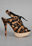 Ashley Espadrille Sandal in Leopard