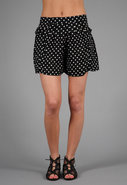 Dot Staying Cool Skort in Black Combo