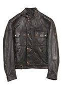 Cougar Leather Blouson Jacket