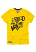 Panthers Short Sleeve Tee in New Yellow