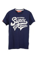 Super Sonics Short Sleeve Tee in Indigo