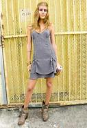 Summer Laces Dress in Grey