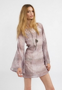 Influence Dress in Reptile Print