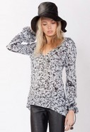 Crystalize Blouse in Crackle