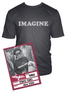 Yoko Ono Imagine Short Sleeve Graphic Tee
