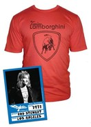 Rod Stewart Lamborghini Short Sleeve Graphic Tee