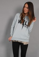 Wild Thing Oversize Hoodie in 2 colors