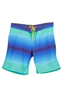 Surf Style Ombre Print Surf Style Swim Short in Tw