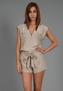 Silk Romper in Many Colors