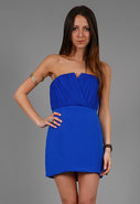 Bombshell Dress with Shirring in Many Colors