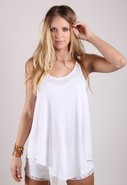 Catalina Tank in White