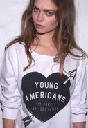 Young Americans Loose Fit Boyfriend Sweatshirt in