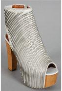 Kole Shoe in White Silver Combo