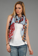 Tribal Scarf in Blue