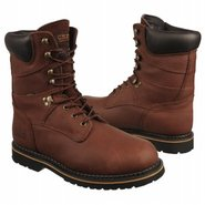 8  lace-up Boots (Dark Brown) - Men's Boots - 15.0