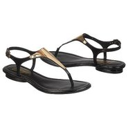 Bali Sandals (Black Leather) - Women's Sandals - 8