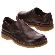 Orson Plain toe slip-on Shoes (Dark Brown Overrun)