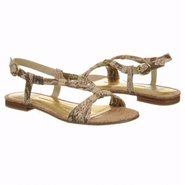 Dally Sandals (Natural Snake) - Women's Sandals -