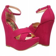 Not Enough Shoes (Fuchsia Suede) - Women's Shoes -