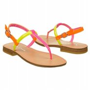 Pippa Pre/Grd Sandals (Orange Multi) - Kids&#39; Sanda