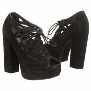 Gilly Shoes (Black Suede) - Women's Shoes - 9.0 M