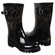 MK Mid Rainboot Boots (Black Logo) - Women's Boots