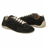 Speedcat Distressed Shoes (Black) - Men's Shoes -