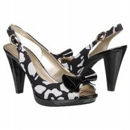 Elong Shoes (Black/White Floral) - Women's Shoes -