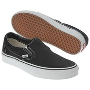 Classic Slip-On Shoes (Black) - Men's Shoes - 5.5