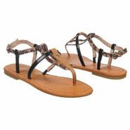 Palermo Sandals (Leopard/Black/Gold) - Women's San