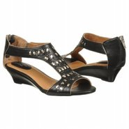 Thimble Clover Sandals (Black Leather) - Women's S