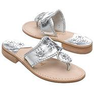 Navajo Sandals (Silver) - Women's Sandals - 6.0 M