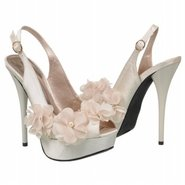 Glass Shoes (Ivory Satin) - Women's Shoes - 8.0 M