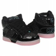 NYC83 SLM Pre/Grd Shoes (Blk/Lt Pink/Stars) - Kids