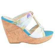 Oma Shoes (Aqua Multi/Rich Gold) - Women's Shoes -