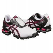 GEL-Linksmaster Shoes (White/Rasberry/Metal) - Wom