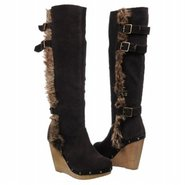 Rabbit Heart Boots (Chocolate) - Women&#39;s Boots - 6