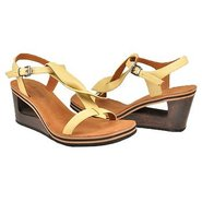 Pine Heart Sandals (Pale Yellow) - Women's Sandals
