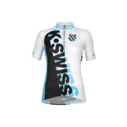 Women's Tri Jersey Accessories (White/Fiji Blue)-