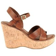 Bette Shoes (Brown Leather) - Women's Shoes - 8.0