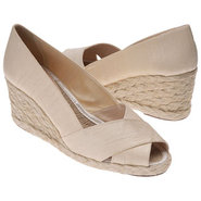 Cecilia Sandals (Parchment Shantung) - Women&#39;s San