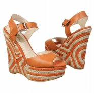 Gianna Sandals (Orange Leather) - Women&#39;s Sandals 